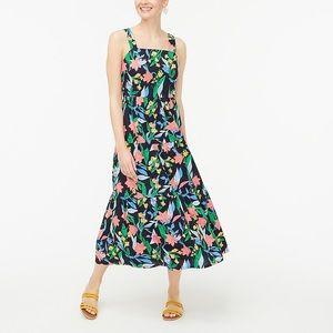 J Crew Factory Flora Tiered Dress